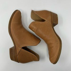 LUCKY BRAND Perforated Baley Cut Out Booties 9.5